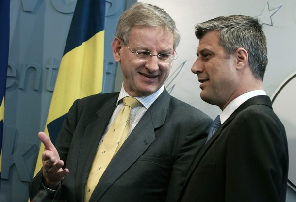 Hashim Thaci Kriminel Carl Bildt Hashim Thaci